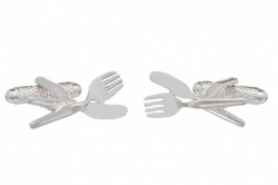 Knife and Fork Cufflinks